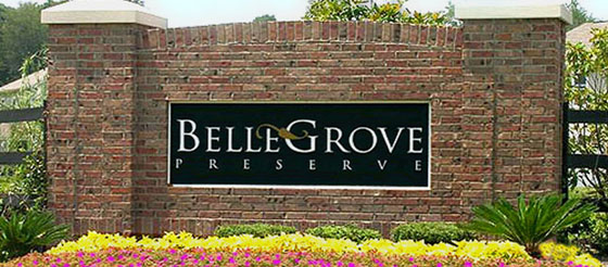 Bellegrove Preserve Sign